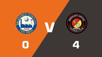 Highlights: Braintree Town vs Ebbsfleet United