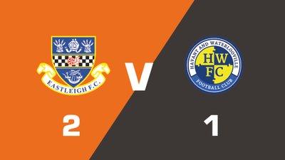 Highlights: Eastleigh vs Havant & Waterlooville
