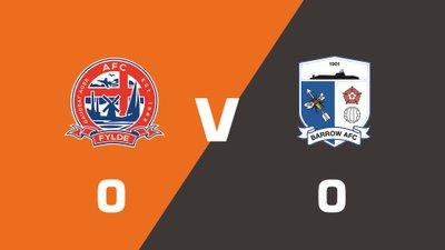 Highlights: AFC Fylde vs Barrow