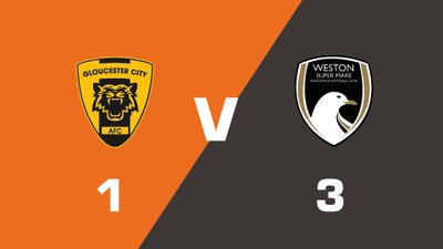 Highlights: Gloucester City vs Weston-super-Mare AFC