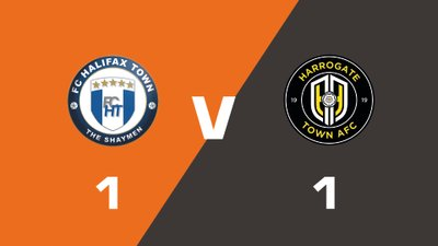 Highlights: FC Halifax Town vs Harrogate Town