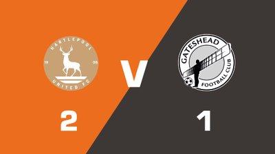 Highlights: Hartlepool United vs Gateshead