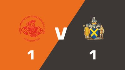 Highlights: Hemel Hempstead Town vs St Albans City
