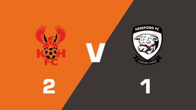 Highlights: Kidderminster Harriers vs Hereford