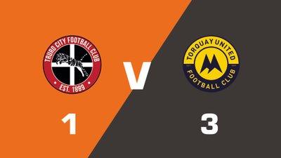 Highlights: Truro City vs Torquay United