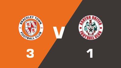 Highlights: Brackley Town vs Ashton United