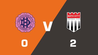 Highlights: Dulwich Hamlet vs Bath City