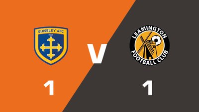 Highlights: Guiseley vs Leamington
