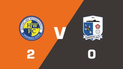 Highlights: Havant & Waterlooville vs Barrow