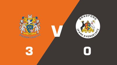 Highlights: Stockport County vs Bradford (Park Avenue)