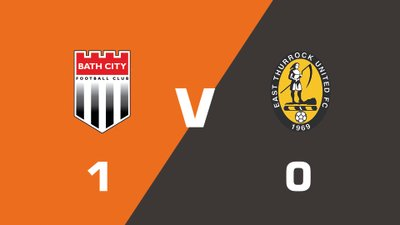 Highlights: Bath City vs East Thurrock United
