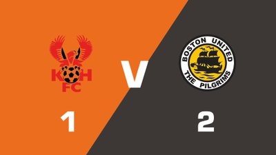 Highlights: Kidderminster Harriers vs Boston United