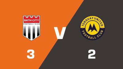 Highlights: Bath City vs Torquay United