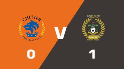 Highlights: Chester vs Curzon Ashton