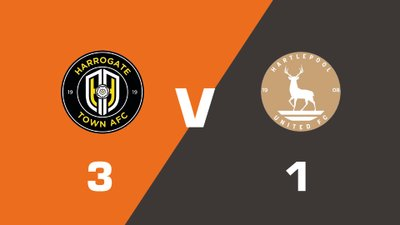 Highlights: Harrogate Town vs Hartlepool United