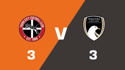 Highlights: Truro City vs Weston-super-Mare AFC