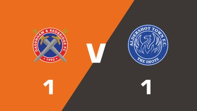 Highlights: Dagenham & Redbridge vs Aldershot Town