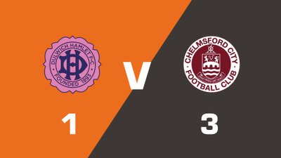 Highlights: Dulwich Hamlet vs Chelmsford City