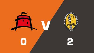 Highlights: Eastbourne Borough vs East Thurrock United
