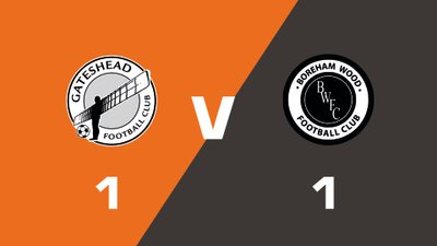 Highlights: Gateshead vs Boreham Wood