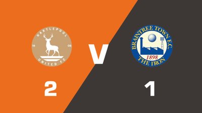 Highlights: Hartlepool United vs Braintree Town