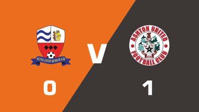 Highlights: Nuneaton Borough vs Ashton United