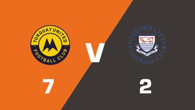 Highlights: Torquay United vs Oxford City