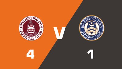 Highlights: Chelmsford City vs Hungerford Town