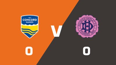 Highlights: Concord Rangers vs Dulwich Hamlet