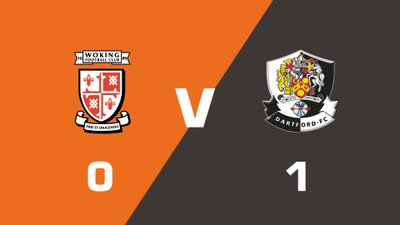 Highlights: Woking vs Dartford