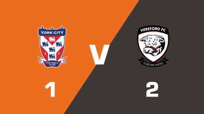 Highlights: York City vs Hereford