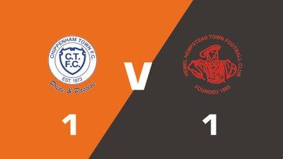 Highlights: Chippenham Town vs Hemel Hempstead Town