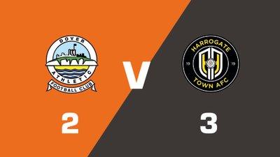 Highlights: Dover Athletic vs Harrogate Town
