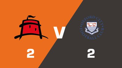 Highlights: Eastbourne Borough vs Oxford City