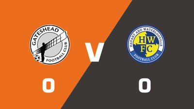 Highlights: Gateshead vs Havant & Waterlooville