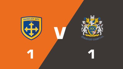 Highlights: Guiseley vs Stockport County