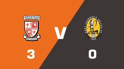 Highlights: Woking vs East Thurrock United