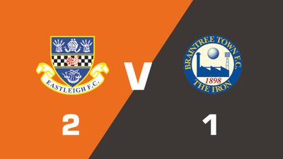 Highlights: Eastleigh vs Braintree Town