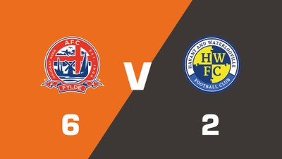 Highlights: AFC Fylde vs Havant & Waterlooville