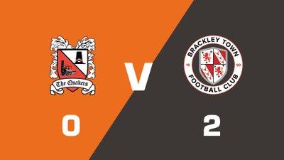Highlights: Darlington vs Brackley Town