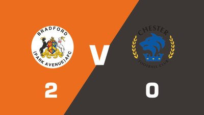 Highlights: Bradford (Park Avenue) vs Chester