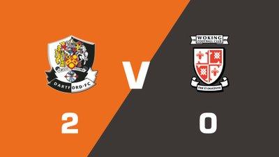 Highlights: Dartford vs Woking