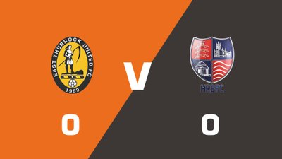 Highlights: East Thurrock United vs Hampton & Richmond Borough