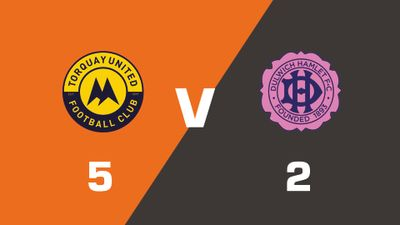 Highlights: Torquay United vs Dulwich Hamlet