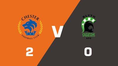 Highlights: Chester vs Blyth Spartans