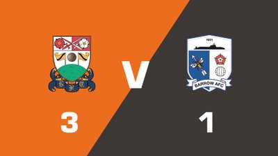 Highlights: Barnet vs Barrow