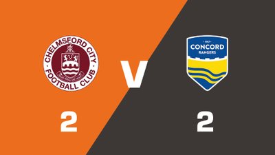 Highlights: Chelmsford City vs Concord Rangers