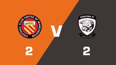 Highlights: FC United Of Manchester vs Hereford