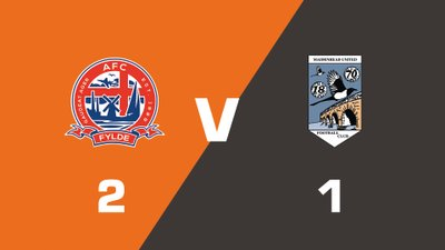 Highlights: AFC Fylde vs Maidenhead United