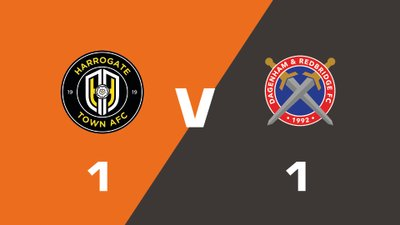 Highlights: Harrogate Town vs Dagenham & Redbridge